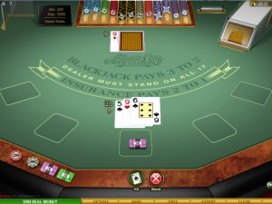 Online Blackjack Game